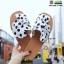 รองเท้าแตะผู้หญิง ลายจุด มัดโบว์ G-1424-WHI(POINT) [สีขาว] thumbnail 1