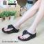รองเท้าสุขภาพ ฟิทฟลอปหนีบ แต่งดอกไม้ F1080-BLK [สีดำ] thumbnail 2