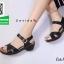 รองเท้าแตะรัดส้นสีดำ สำหรับคนรักสุขภาพ (สีดำ ) thumbnail 2