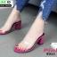 รองเท้าลำลอง สไตล์ maxi RU45-PNK [สีชมพู] thumbnail 1