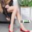 รองเท้าคัชชูหัวมน 18-1338-RED [สีRED] thumbnail 5