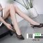 รองเท้าส้นสูงรัดส้น dior ผ้าตาข่าย 279-13-BLK [สีดำ] thumbnail 5