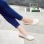 รองเท้าคัทชูผู้หญิง SM9028-WHT [สีขาว] thumbnail 2