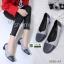 รองเท้าคัชชูส้นสูง วัสดุหนังPU 0290-A3-GRY [สีเทา] thumbnail 3