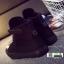 รองเท้าผ้าใบหุ้มข้อนำเข้า สไตล์เกาหลี YZB-059-BLK [สีดำ] thumbnail 4