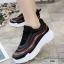 รองเท้าผ้าใบแฟชั่น 512-BLK [สีดำ] thumbnail 3