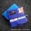 กระเป๋าสตางค์ผู้หญิง ใบยาวสวยงาม สีน้ำเงินสด หนังวัวแท้แสนนุ่ม ทนทาน โดนน้ำได้ ไม่ลอกร่อน พร้อมกล่องแบรนด์แท้ Moonlight thumbnail 4
