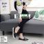 รองเท้าผ้าใบสวมปักงานสไตล์แบรนด์ดัง 202-BLK [สีดำ] thumbnail 4
