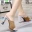 รองเท้าส้นสูงแบบสวม ST336-KHA [สีกากี] thumbnail 4