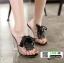 รองเท้าลำลองแบบสวม ทรง maxi 961-5-BLK [สีดำ] thumbnail 2