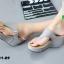 รองเท้าเตารีดเปิดส้นสีเทา หูคีบ (สีเทา ) thumbnail 2