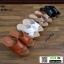 รองเท้าเตารีดแบบสวม วัสดุหนังpu V103-BLK [สีดำ] thumbnail 2