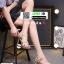 รองเท้าส้นสูงสไตล์YSL 18-1326-PNK [สีชมพู] thumbnail 3