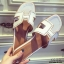 รองเท้าแตะเปิดส้น สไตล์ H ฉลุลาย G-1415-WHI (สีขาว) thumbnail 4