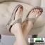 รองเท้าสุขภาพแบบใหม่เทรนด์เกาหลี 992-12-GLD [สีทอง] thumbnail 2