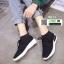 รองเท้าผ้าใบนำเข้า สไตล์ ADIDAS 8611-1-BLACK [สีดำ] thumbnail 2