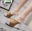 รองเท้าส้นสูงแบบสวม ST336-KHA [สีกากี] thumbnail 3