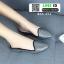 รองเท้าลำลองเปิดส้น ทรงหัวแหลม B55-354-SIL [สีเงิน] thumbnail 3
