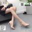 รองเท้าคัชชู ส้นชุบโคเมี่ยม K9329-PNK [สีชมพู]