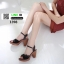 รองเท้าส้นสูงนำเข้าคุณภาพ 18-1398-BLACK [สีดำ] thumbnail 2