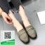 รองเท้าคัทชูสีเทา หนังนิ่ม (สีเทา ) thumbnail 1