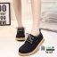รองเท้าบูทนำเข้าสุดชิค สไตล์เกาหลี M165-ดำ [สีดำ] thumbnail 1