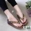 รองเท้าสุขภาพ อีกตัวที่แนะนำในความเลิศ นิ่มมาก Y122-น้ำตาล [สีน้ำตาล ] thumbnail 3
