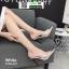 รองเท้าส้นสูงหัวแหลมแหลม ใสเปิดส้น H178-A12-WHI [สีขาว] thumbnail 3