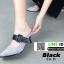รองเท้าเปิดส้น หัวแหลม ลายสก๊อต C3-11-BLK [สีดำ] thumbnail 2