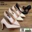 รองเท้าคัชชูงานหนังแก้ว K23114-PNK [สีชมพู] thumbnail 4
