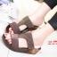 รองเท้าเพื่อสุขภาพสีน้ำตาล Soft Sandals (สีน้ำตาล ) thumbnail 1