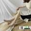 รองเท้าส้นสูงรัดข้อ T-Strapt พลาสติกใส G-1433-WHI [สีขาว] thumbnail 3