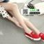 รองเท้าลำลองผ้าแคนวาสนำเข้า HAN-YL006-RED [สีแดง] thumbnail 2