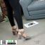 รองเท้าส้นสูงรัดข้อ G12-49-GRY [สีเทา] thumbnail 3