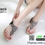 รองเท้าแตะพื้นนิ่มรัดส้น B1817-1-ดำ [สีดำ] thumbnail 2