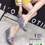 รองเท้าส้นเตารีดแบบสวม 8980-15-GRA [สีเทา] thumbnail 2