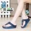รองเท้าสุขภาพแต่งพู่ตุ้งติ้ง L2882-BLU [สีน้ำเงิน] thumbnail 1