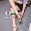รองเท้าส้นสูงสไตล์YSL 18-1326-GLD [สีทอง] thumbnail 2