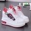 รองเท้าผ้าใบเสริมส้นนำเข้า สไตล์เกาหลี 0025-RED [สีแดง] thumbnail 4