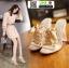 รองเท้าลำลองแบบสวม ทรง maxi 961-5-CRE [สีครีม] thumbnail 2