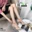 รองเท้าคัชชูส้นเข็มเปิดส้น งานสไตล์valentino K9014-CRM [สีครีม] thumbnail 1