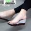 รองเท้าลำลองแบบสวมส้นเตารีด 957-83-GRY [สีเทา] thumbnail 3