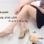 รองเท้าส้นสูง หน้าไขว้ กากเพรช 17-2291-ทอง [สีทอง] thumbnail 3