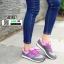 รองเท้าผ้าใบ ทรงสปอร์ต SM9027-GRY [สีเทา] thumbnail 3