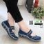 ผ้าใบยางยืด เพื่อสุขภาพเท้า 052-น้ำเงิน [สีน้ำเงิน] thumbnail 1