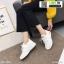 รองเท้าผ้าใบแฟชั่นงานผ้า 6615E2-WHI [สีขาว] thumbnail 2