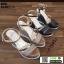 รองเท้ารัดข้อเปิดท้ายส้นเตารีด ST011-GLD [สีทอง] thumbnail 5
