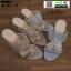 รองเท้าส้นสูงแบบสวมเปิดส้น DY9661-SIL [สีเงิน] thumbnail 2