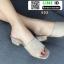 รองเท้าลำลองส้นเหลี่ยม หน้าสวม 523-CRE [สีครีม] thumbnail 2