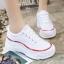 รองเท้าผ้าใบแฟชั่น 512-WHI [สีขาว] thumbnail 6